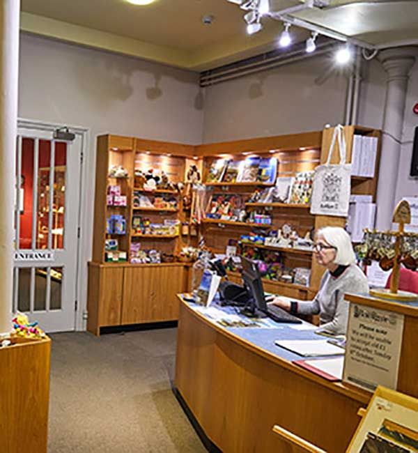 Bailiffgate Museum Shop temp