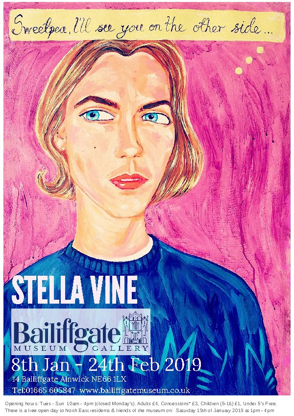 Poster Stella Vine Bailiffgate 2019 new version