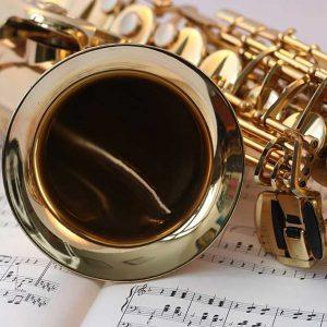 web saxophone music