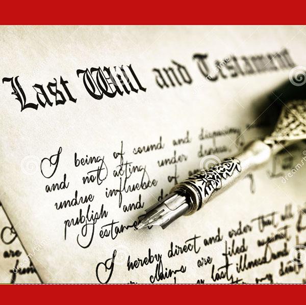 last will testament 2