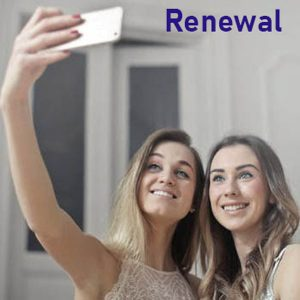 Friend with guest renewal