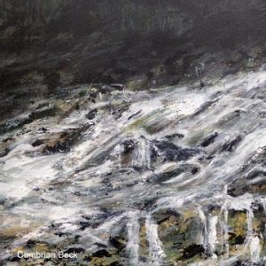 Barbara Cole Cumbrian Beck Acrylic on canvas 64x53cm NFS 1