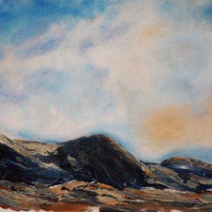Jane Mann Fionavon Sutherland Acrylic on paper 29x39cm NFS
