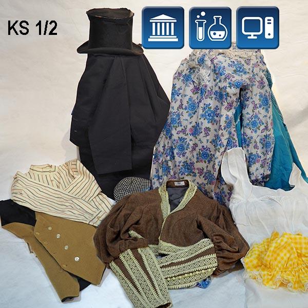 Victorian Clothes A B